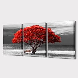 3Piece Canvas Wall Art for living room -panoramic black and