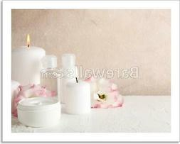 Spa Accessories And Art Print / Canvas Print. Poster, Wall A