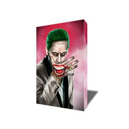 Suicide Squad Joker Canvas JARED LETO Poster Photo Painting